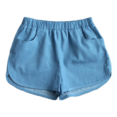 Shorties - Wash Denim