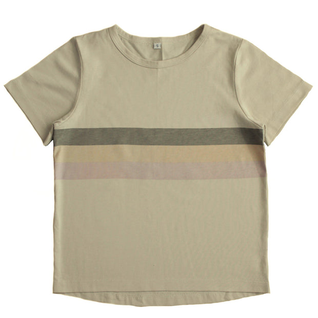 Basic Bone Tee - Rainbow