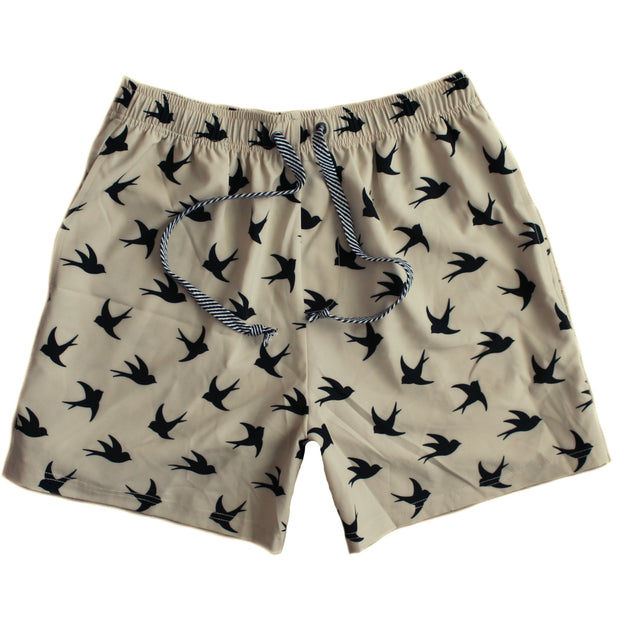 Men's Board Shorts - Oak Swallow