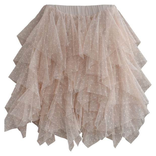 Tulle Skirt Bone