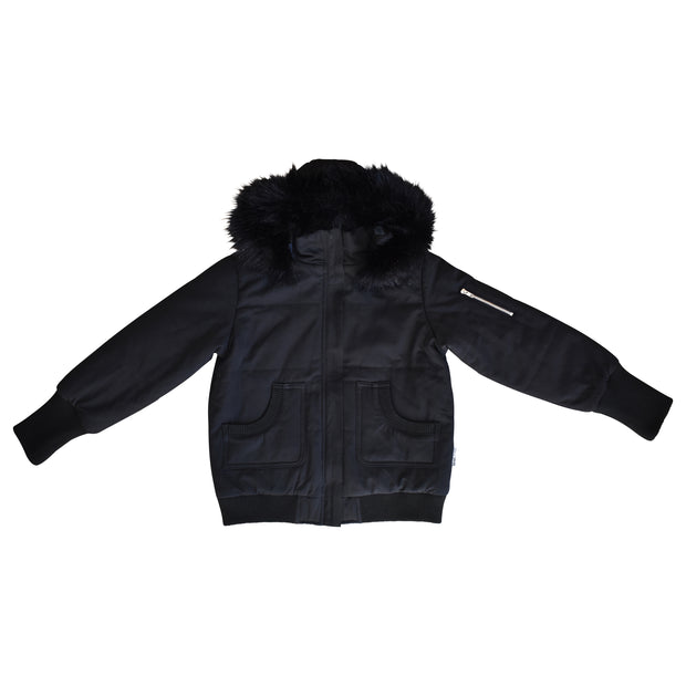 Black Fur Bomber