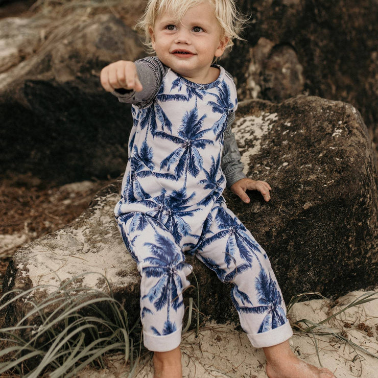 Palm Springs LS Romper