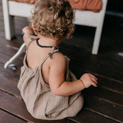 In Bloom Romper - Mud