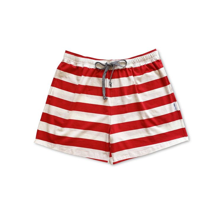 Candy Cane Men's Sleep Shorts