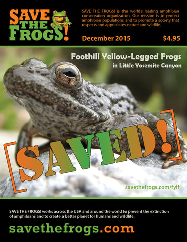 SAVE THE FROGS! Magazine - December 2015 issue
