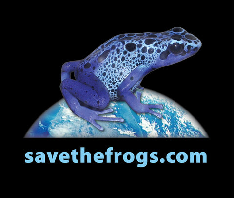 Blue Poison Dart Frog Organic Cotton T-Shirt