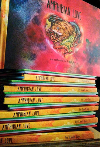 Amphibian Love: An Artbook by Leah Jay