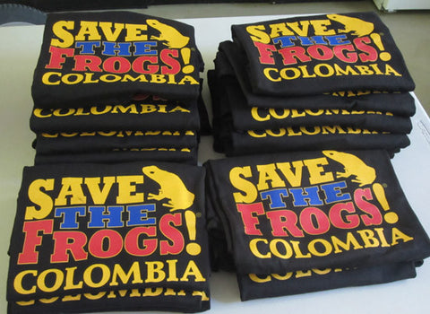 SAVE THE FROGS! Colombia Organic Cotton T-Shirt