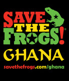SAVE THE FROGS! Ghana Frogstar Shirt