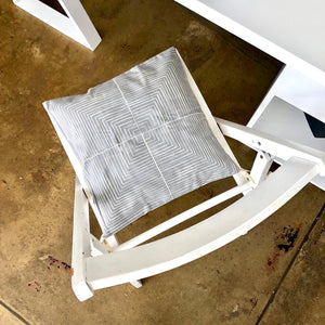 Chair Cushion Cover Grey | fresh looks for dinning, office or patio chairs