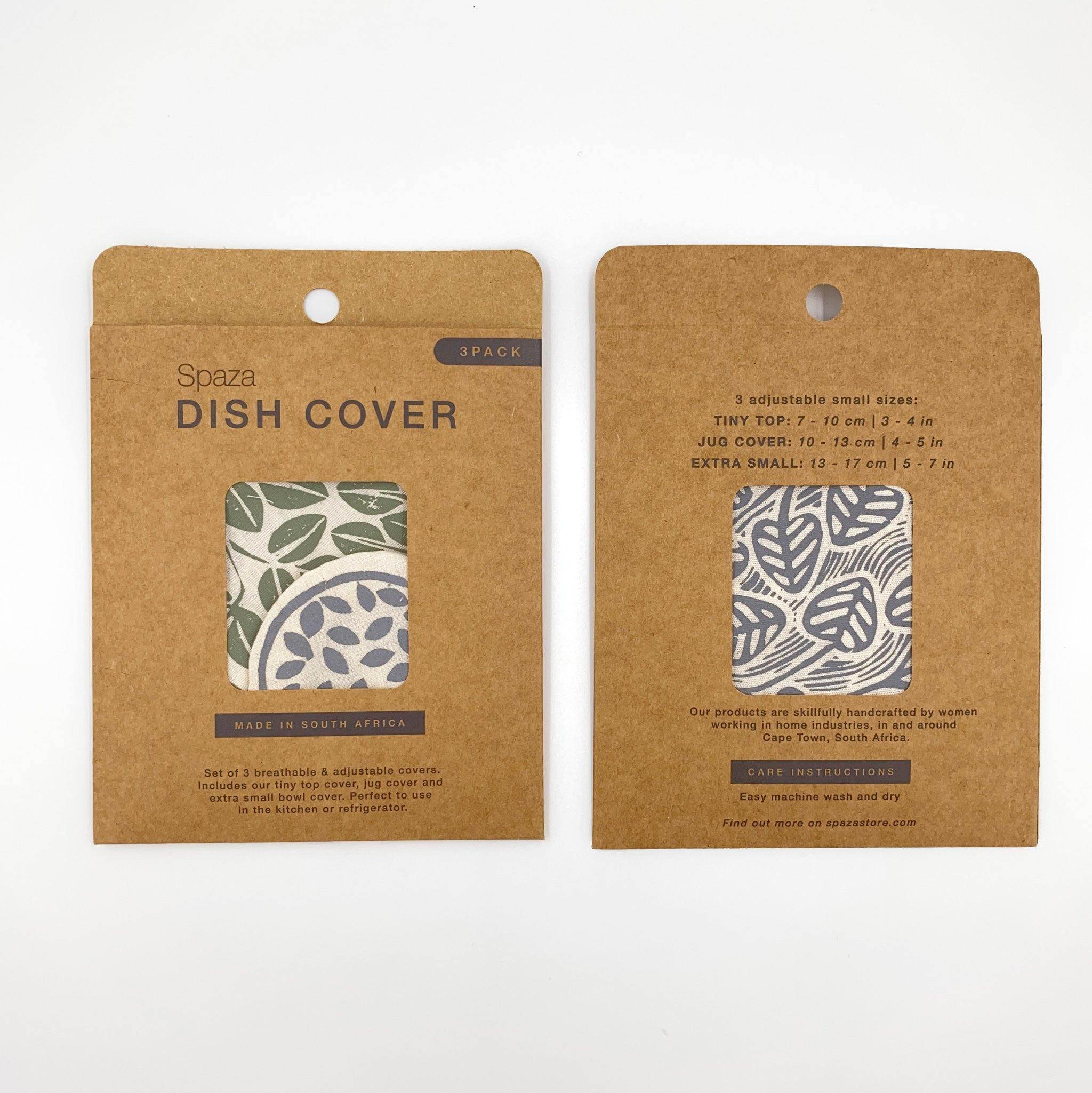 Set of 3 Mini Dish Covers | alternative to plastic wrap