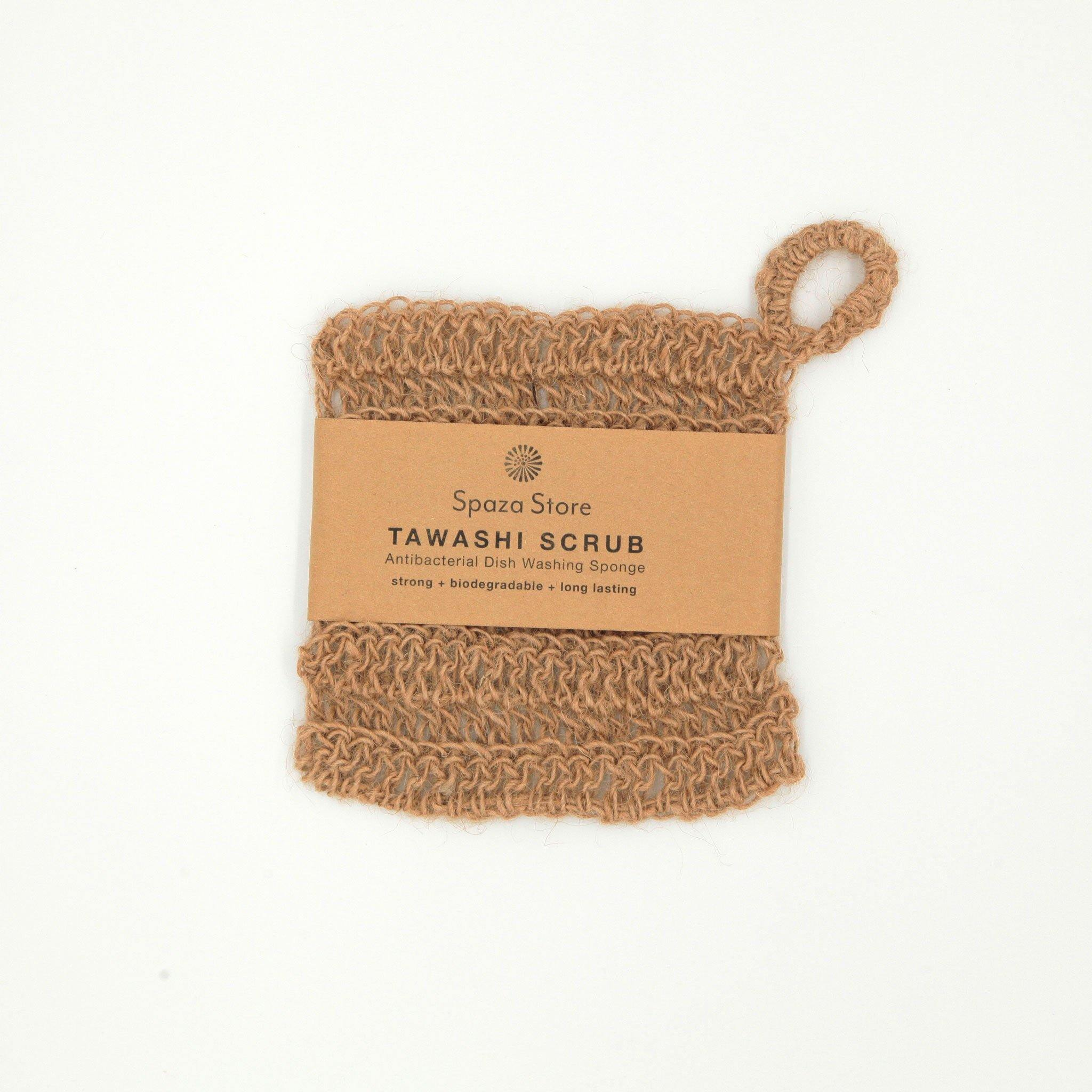 Tawashi Scrub | eco friendly alternative to a green synthetic sponge