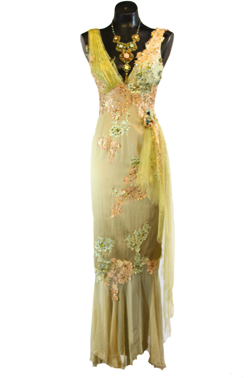 Mandalay Pastel Stretch Gown