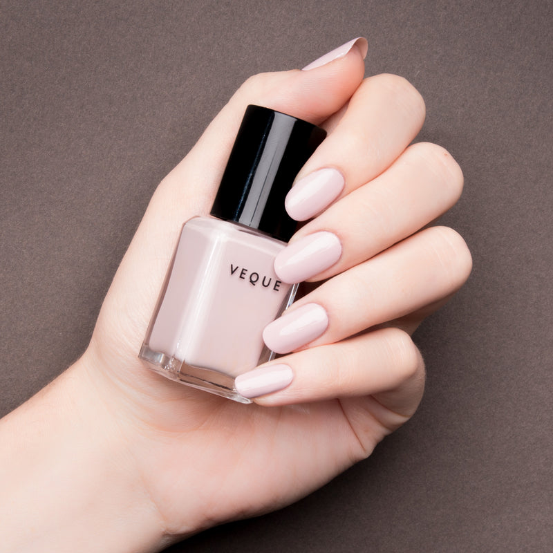 Free gift.  VEQUE nail polish perfect pink nude. Made with clean vegan ingredients.