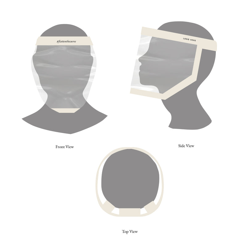 Face Shields - 6-pack
