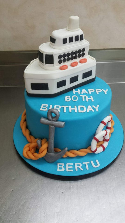 Sailing Themed Cake