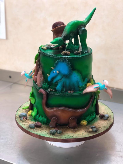 Dinosaurs Themed Cake