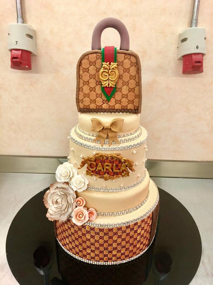 Gucci Themed Cake