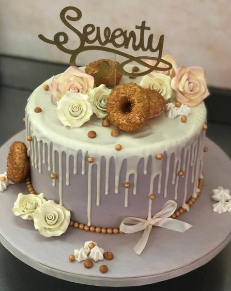 Elegant Birthday Cake