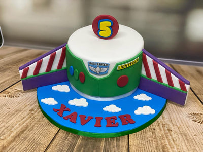 Toy Story Themed Cake
