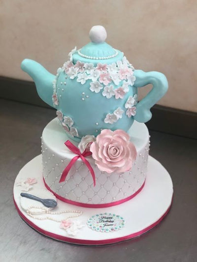 Tea Pot Birthday Cake