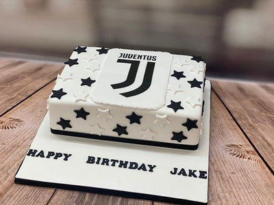 Juventus Themed Cake