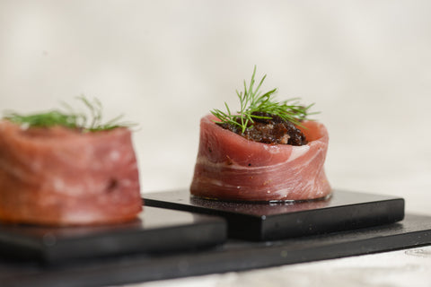 Duck and Parma Ham in Honey - Mannarinu