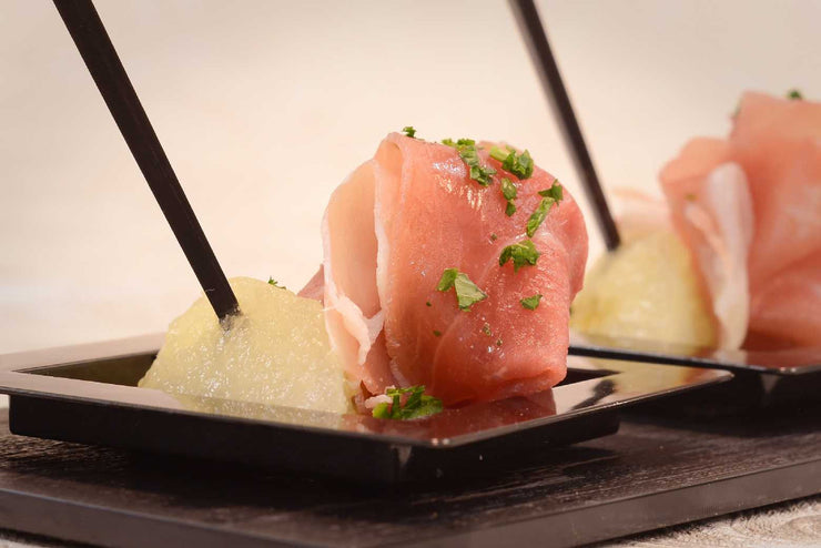 Parma Ham Served with Melon - Mannarinu - 1