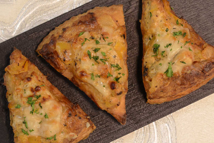 Pineapple, brie and yellow pepper foccacia - Mannarinu - 1