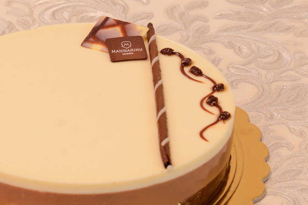 Triple Chocolate Mousse Cake - Mannarinu - 1
