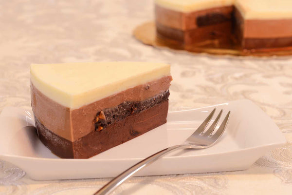 Triple Chocolate Mousse Cake - Mannarinu - 2