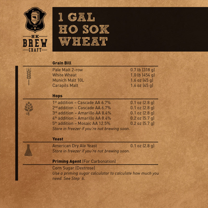 1 Gallon - Ho Sok Wheat