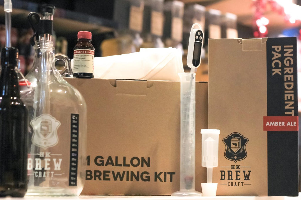 1 Gallon Brewing Kit - Amber Ale