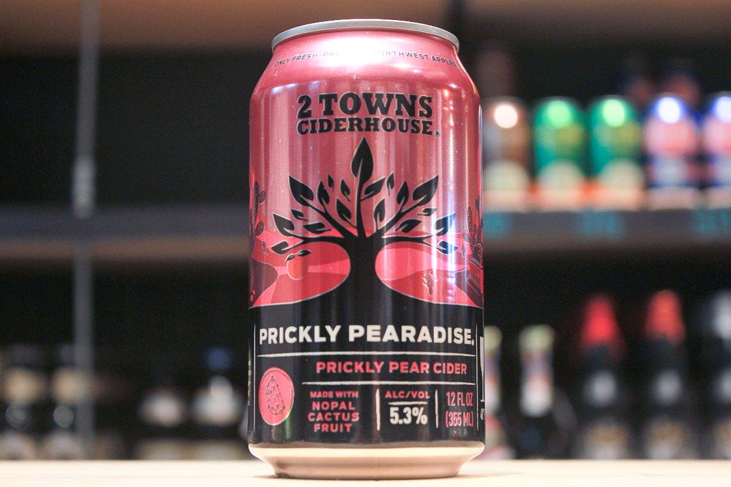 2 Towns Ciderhouse Prickly Pearadise