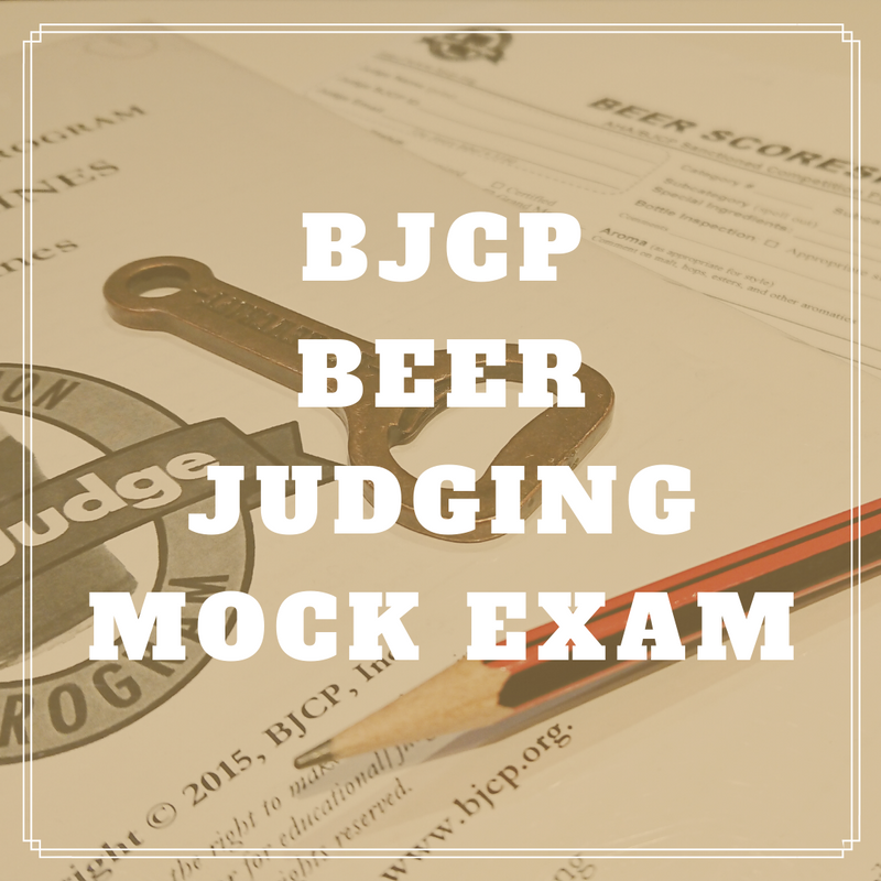 BJCP Beer Judging Mock Exam (120min)
