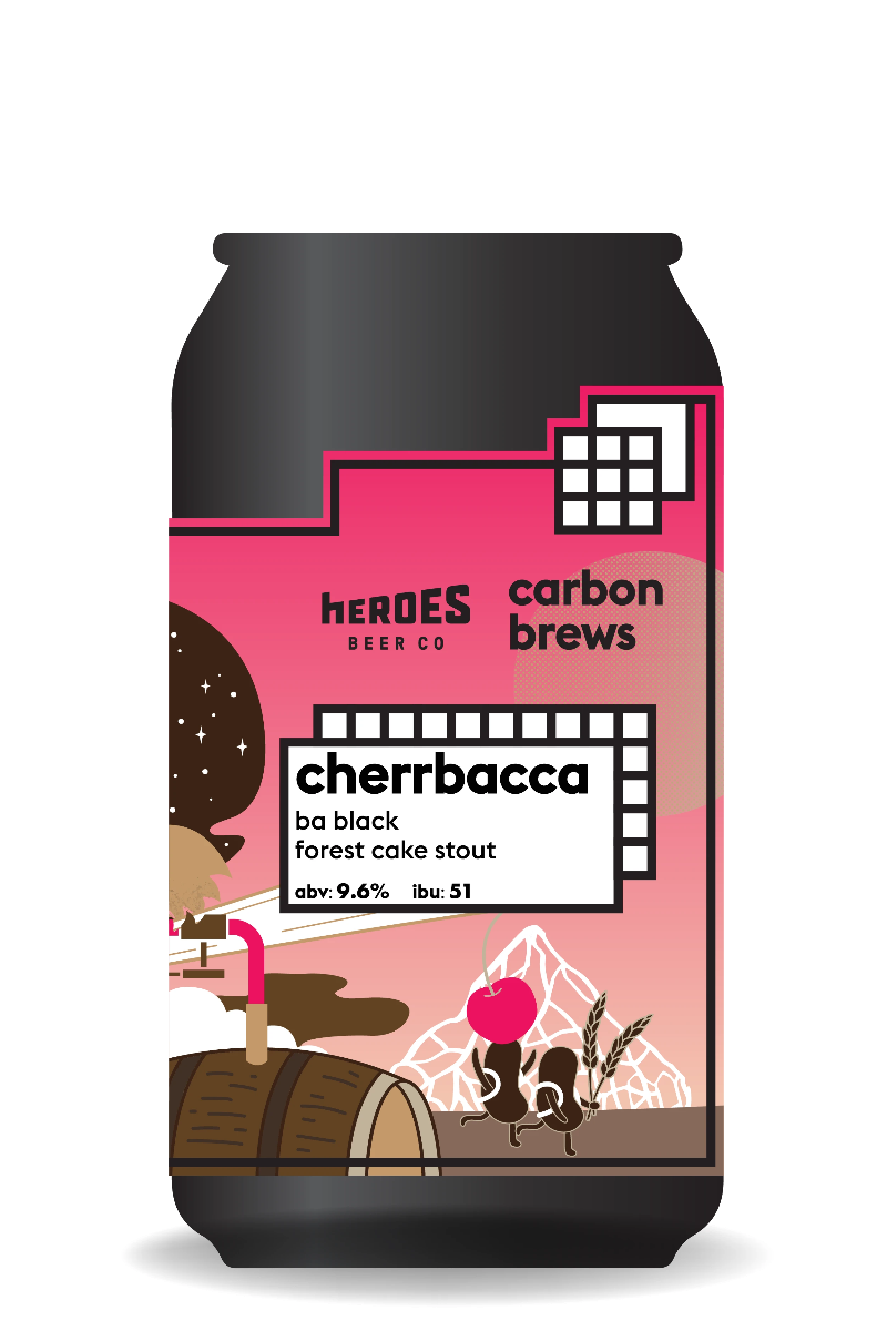 Carbon Brews x Heroes Cherrbacca