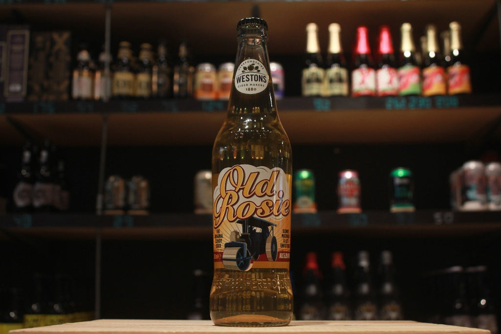 united kingdom uk cider traditional vintage cloudy cider apple cider Henry Westons Old Rosie Cloudy Cider