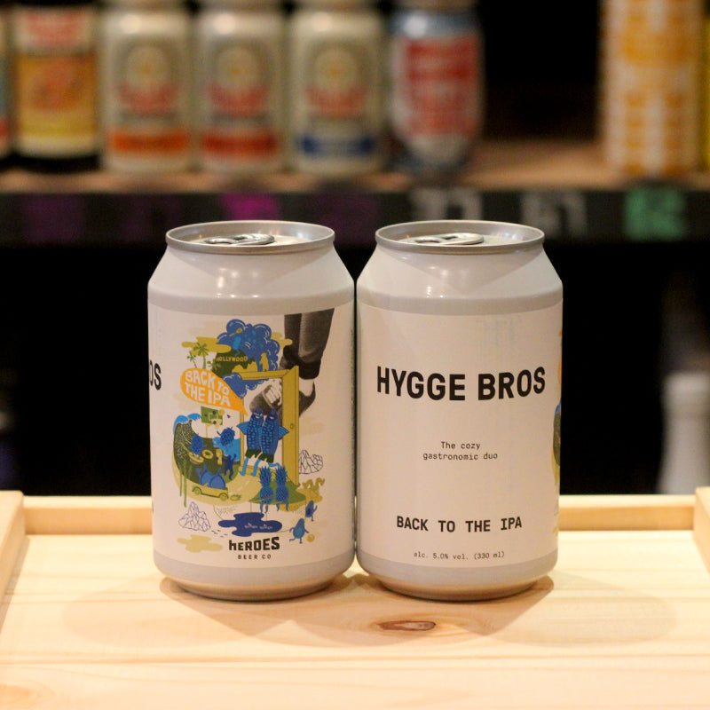 Heroes Hygge Bros Back to the IPA