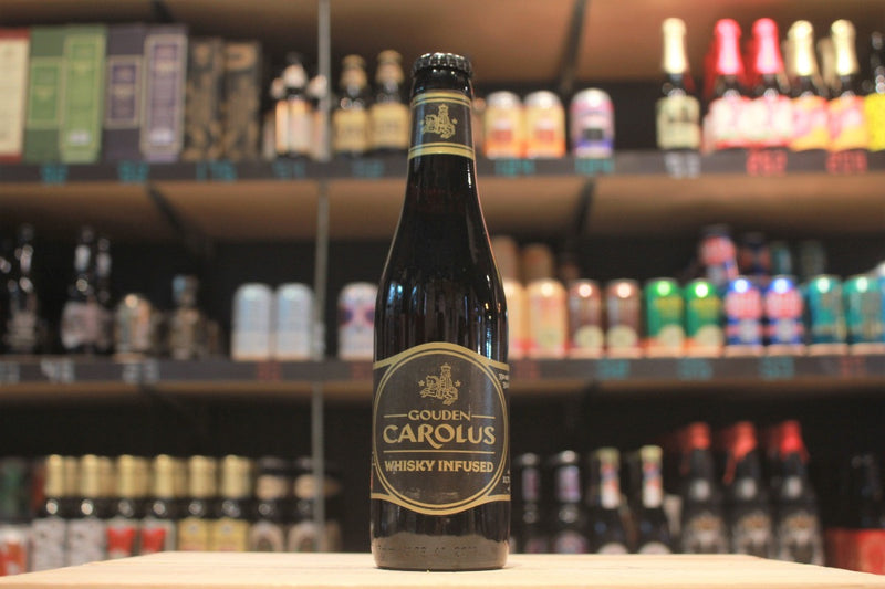 belgium strong dark ale het anker gouden carolus whisky infused single malt whiskey Cuvee Van De Keizer craft beers international craft beers vanilla chocolate oak best for sharing beer tasting