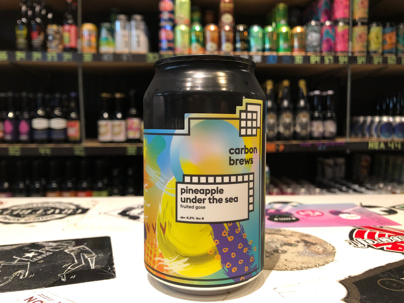 Carbon Brews Pineapple Under the Sea