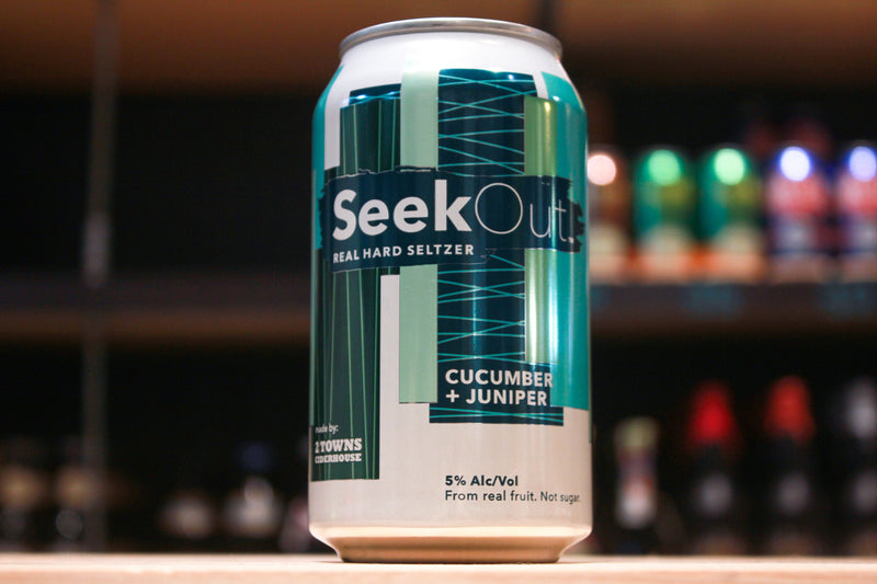 SeekOut Hard Seltzer- Cucumber + Juniper