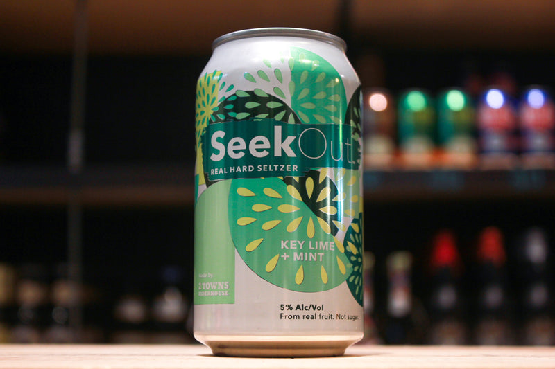 SeekOut Hard Seltzer- Key Lime + Mint