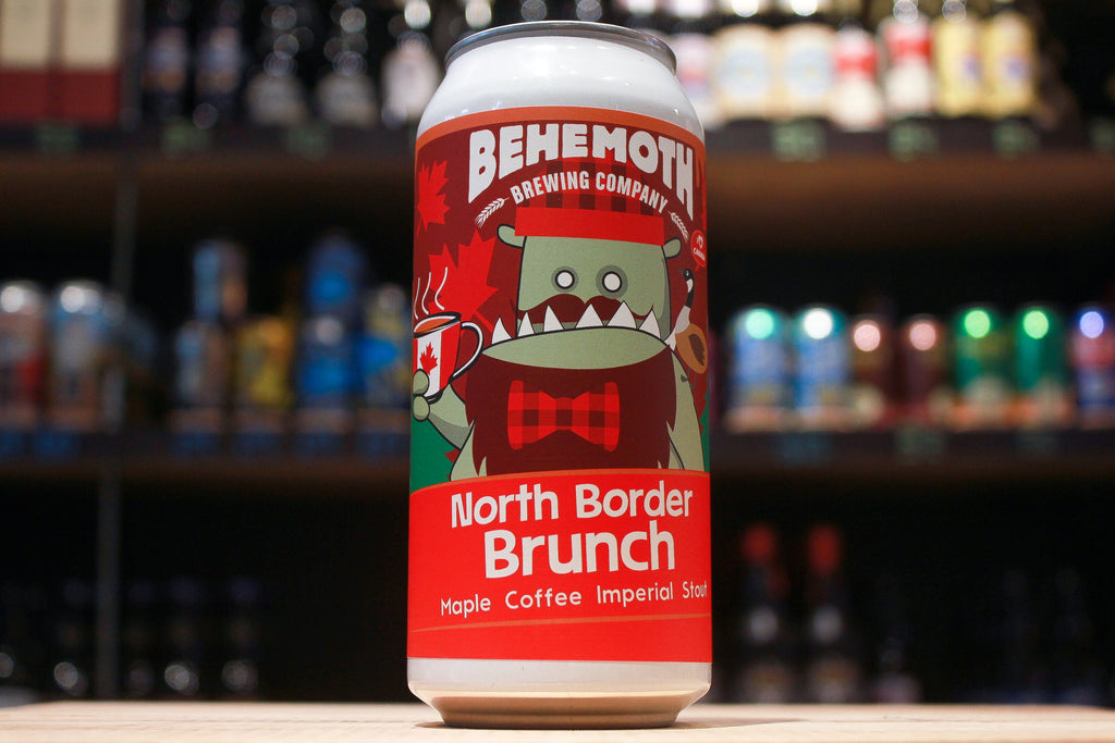 Behemoth North Border Brunch Maple Coffee Imperial Stout