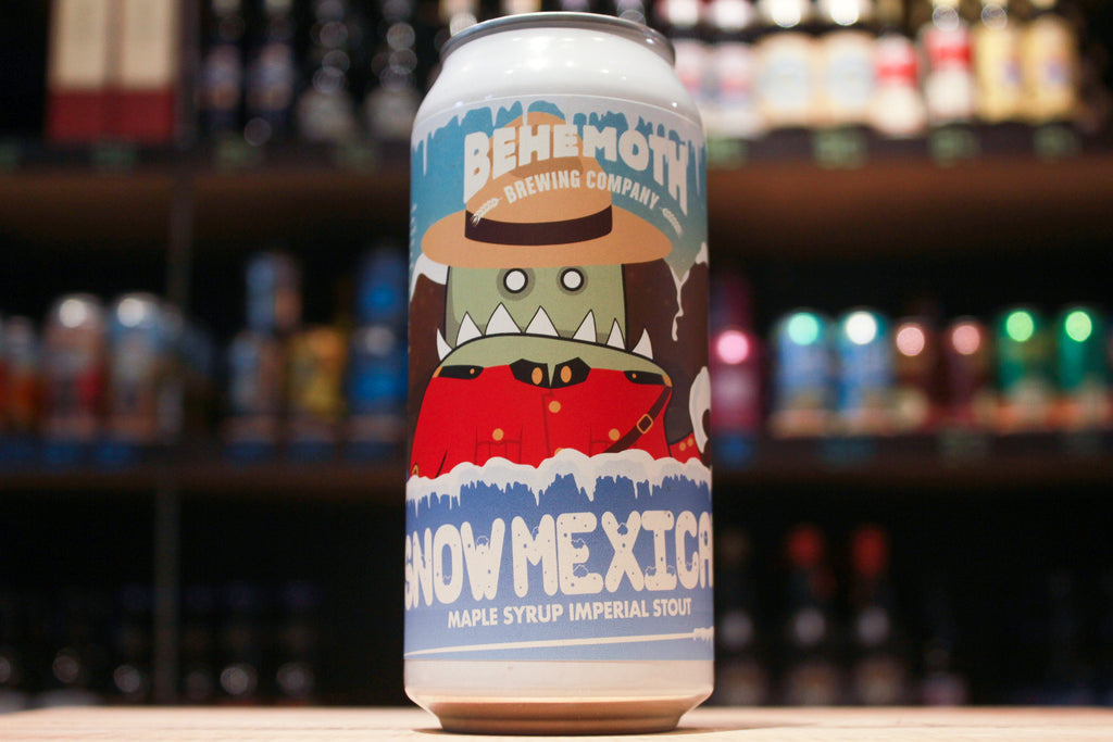 Behemoth Snow Mexican Maple Syrup Imperial Stout