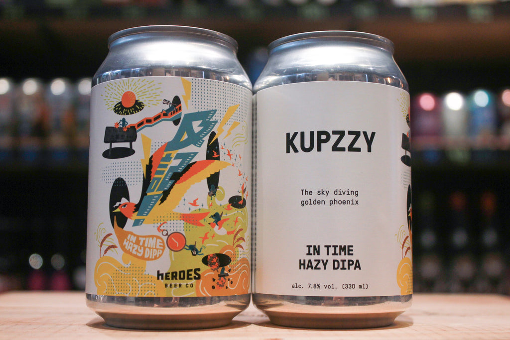 Heroes KUPZZY In Time Hazy DIPA