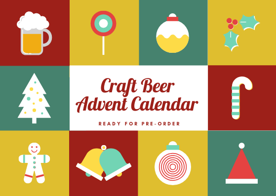 Christmas Craft Beer Advent Calendar (Pre-order)