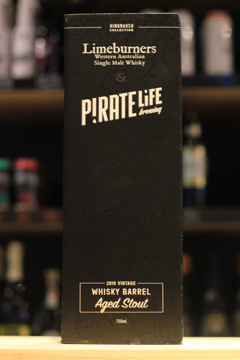 Pirate Life/Limeburners Whisky Barrel Aged Stout (2018)