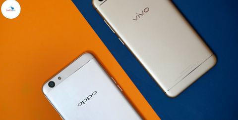 Oppo vs Vivo phones Indian Market