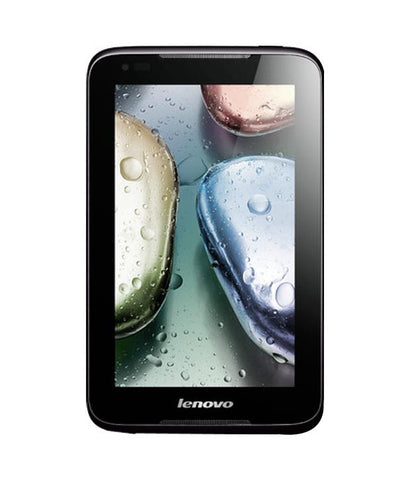 Used Lenovo IdeaTab A1000G WiFi  2G 4GB  Black Tablet - Budli