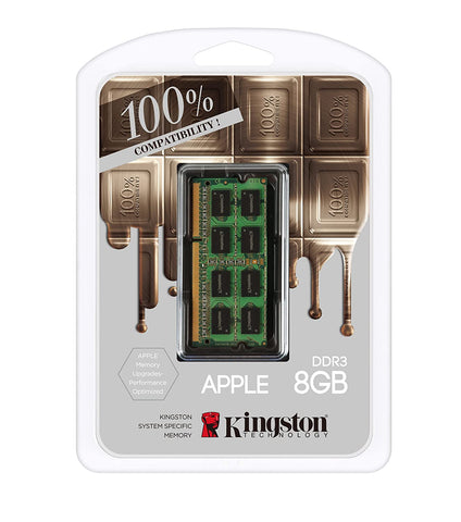 New Kingston KTA-MB1600L/8GFR MAC DDR3 8GB RAM for iMac (Sealed Box)